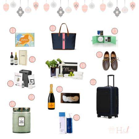 Full holiday gift guide on hostingandtoasting.com - Black Friday sales too!   #LTKgiftspo #LTKsalealert #LTKunder100