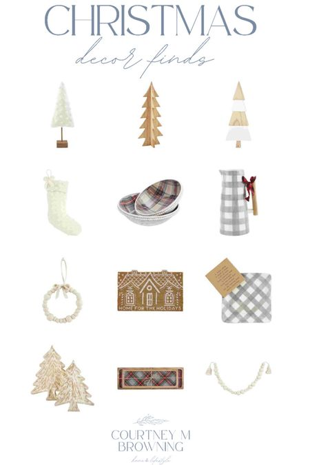 Boutique Christmas decor and neutral Christmas decor   #LTKSeasonal #LTKhome #LTKHoliday