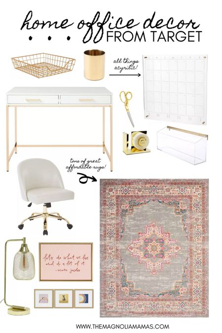 Loving Target's home office decor and accessories! The affordable acrylic pieces have us like 😍. http://liketk.it/3jHoM #liketkit @liketoknow.it #LTKhome #LTKstyletip #LTKsalealert