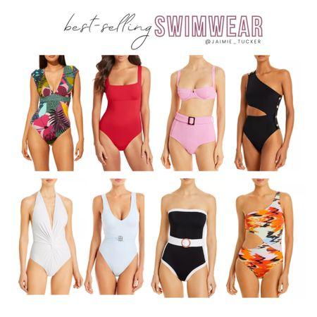 Take a look at some of the best-selling one-piece swimwear items! | #swimwear #beachoutfits #beachcoverups #onepieceswimsuits #swimsuits #onepiece #vacationoutfits #vacationswimsuits #bathingsuits #JaimieTucker  #LTKswim #LTKstyletip #LTKtravel