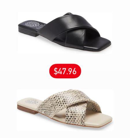Vince Camuto sandals only $47.96 💥   #LTKsalealert #LTKunder50 #LTKSeasonal