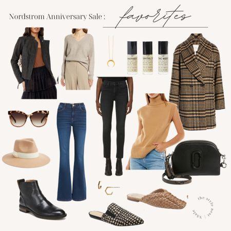 Nordstrom Anniversary Sale favorites #nsale #nordstromsale #fallfashion #sale #ltksale #fallcoats #denim #ootd #lotd #booties #nordstrom http://liketk.it/3jHwY #liketkit @liketoknow.it #LTKsalealert #LTKstyletip #LTKshoecrush