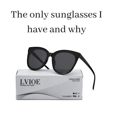 Here's why I only use these sunglasses:  http://liketk.it/3fxCR -They're cheap but don't look like it.  I can't justify expensive glasses because I have not proven that I can be careful enough with them.  Also, I have kids.  My kids break my glasses sometimes.  http://liketk.it/3fxzz -They're CUTE. They make me feel glamorous.-Endless compliments -They're polarized (yet affordable!) -For the price, they can't be better.  Hence, I have two pairs of the exact same pair of glasses.  One pair lives in my car, one lives in my house.  They're just too good.  However, I'm including some other options that I think look great and fit the same criteria of looking more expensive than they are, affordable, and would receive endless compliments. . . . . . . #sunglasses #polarized #polarizedsunglasses #cateyesunglasses #cateye #beachvacation #madewell #tortoiseshell #liketkit #LTKunder50 #LTKstyletip @liketoknow.it @liketoknow.it.europe @liketoknow.it.brasil Follow me on the LIKEtoKNOW.it shopping app to get the product details for this look and others   Sunglasses Polarized Polarizedsunglasses Cateyesunglasses Cat eye  Beach vacation Tortoise Shell