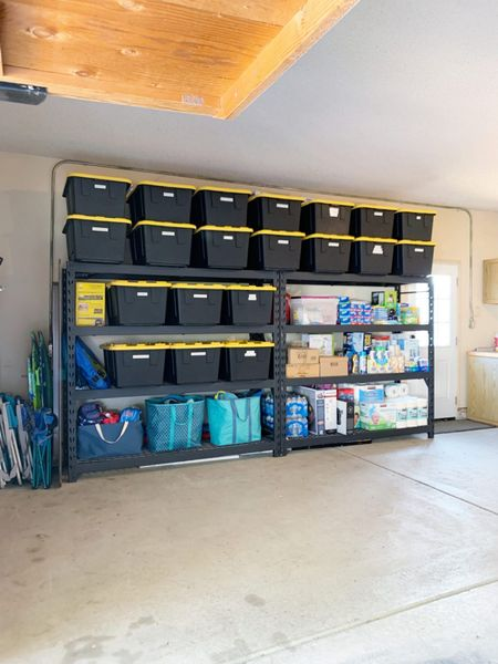 Garage Organization ideas. #garage #garageorganization #storage #organization #storagebins  #LTKhome
