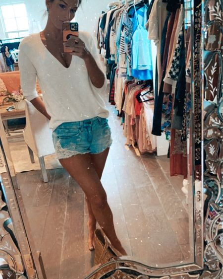 Jean shorts for the #summerstyle win ! #jeanshorts http://liketk.it/3hjBo #liketkit @liketoknow.it #LTKDay #LTKunder50 #LTKstyletip Shop your screenshot of this pic with the LIKEtoKNOW.it shopping app