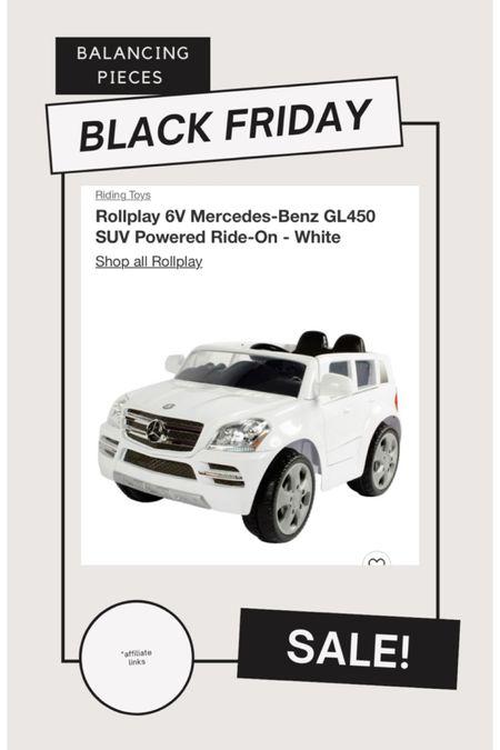 Perfect for your littles! Ride on car! Under $150. #LTKgiftspo #LTKhome http://liketk.it/32mk5 #liketkit @liketoknow.it @liketoknow.it.home #blackfriday #blackfridaysale