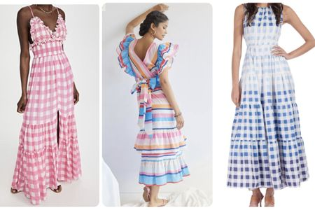 The dog days of summer are still here! Today we had temperatures near 100 degrees. Keep cool in style with a maxi dress. For air conditioned buildings, a Jean jacket or cardigan will keep you comfortable.  #ltkdresses #ltkmaxidress  #LTKstyletip #LTKworkwear #LTKsalealert