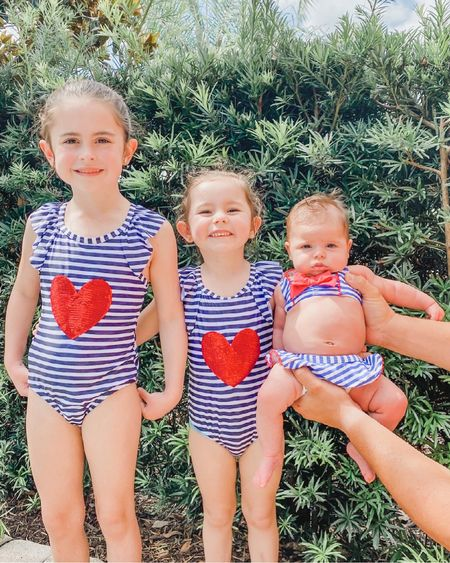 Red white and blue bathing suits for the little ones. Perfect for Memorial Day and 4th of July! ❤️💙 http://liketk.it/3gFj9 #liketkit @liketoknow.it #LTKbaby #LTKkids #LTKfamily @liketoknow.it.family