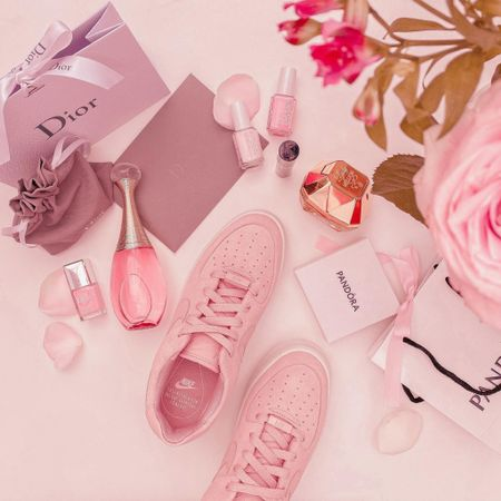 Nike Air Force 1 sage - pink trainers - trainers - sneakers - Air Force - Nike  - beauty - make up - dior parfum - Valentine gifts for her - Valentine wishlist - Valentine gift ideas     #LTKunder100 #LTKSeasonal #LTKVDay http://liketk.it/36XZA @liketoknow.it #liketkit Follow me on the LIKEtoKNOW.it shopping app to get the product details for this look and others