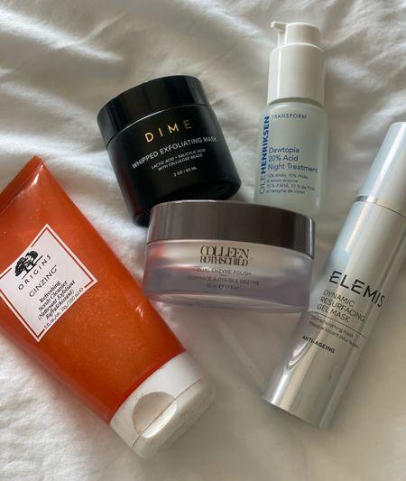 My #KERRentlyApproved exfoliators & resurfacing products that are gentle for sensitive or rosacea prone skin!   #LTKbeauty #LTKunder100 #LTKunder50