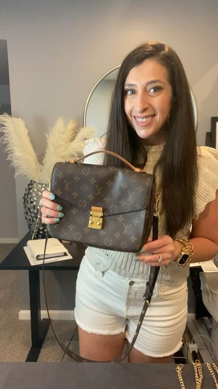👜 Amazon Fashion Find coming at ya! Want to mix up the look of your #louisvuitton Pouchette Métis? This $12 hack will knock your socks off! 👠  * * Want to share your fave Affordable Fashion Finds and get a good B00ST? Follow the host below and send a DM to add you: @mommylexiloves   * * #Aff0rdAb13fashi1onF1ndSw3éKTw3ntyF0uR * * *  You can shop the rest of my looks one of these easy ways!  1️⃣ Click the link in my Profile 2️⃣ DM me for any links 💕 3️⃣ Screenshot a look for the @liketoknow.it app 4️⃣ Follow me @stephstyle101 on the FREE @liketoknow.it app to get all the shopping details of this outfit and all my other outfits.   * * #lv #louisvuittonfans #lvlover #louisvuittonaddict #louisvuittonbag #louisvuittoncollector  #louisvuittonpurse #louisvuittonparis #louisvuittonlovers #louisvuittonbags #lvbag #louisvuittonspeedy #lvaddict #wednesdaymomhood #louisvuittonpouchettemetis #designerinspired #affordablefashion #bagaccessories #chainpursestrap #fashionhack   #LTKsalealert #LTKstyletip #LTKitbag