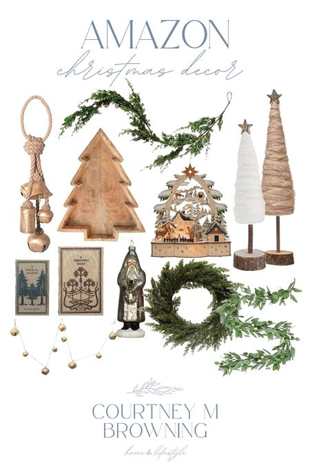 Christmas decor from Amazon! Lots of these things sell out early so now is the time to shop!  #LTKSeasonal #LTKhome #LTKHoliday