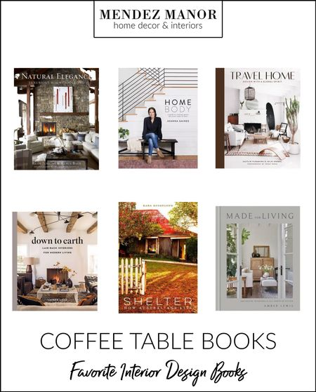 These are some of my favorite hardcover interior design books. They are beautiful to flip through and perfect for coffee table styling!   #LTKhome #LTKstyletip