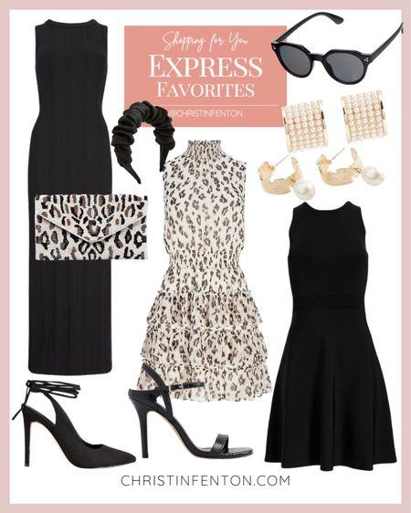 Express fashion collection 🎀 black dresses, party dresses, leopard dresses, wedding guest dresses, casual dresses, fall dresses @shop.ltk #liketkit 🥰 Thanks for being here with me! 🤍 Xo Christin @express  #LTKitbag #LTKunder50 #LTKfit #LTKunder100 #LTKwedding #LTKcurves #LTKstyletip #LTKshoecrush #LTKsalealert
