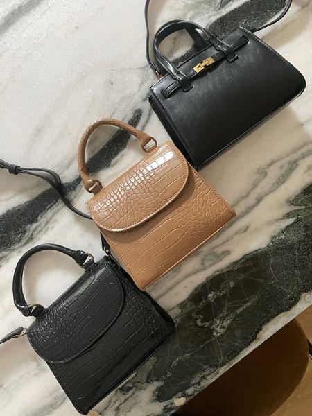 Mini bags under $50 🖤