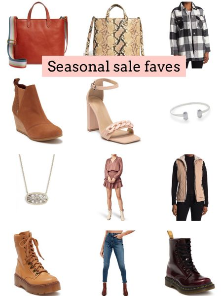 Gifts for her. Gift ideas for her. Madewell. Kendra Scott. Shacket. Free people. Vest. Heels. Doc martens   Follow my shop @ashleyjennany on the @shop.LTK app to shop this post and get my exclusive app-only content!  #liketkit #LTKSeasonal #LTKGiftGuide #LTKsalealert @shop.ltk http://liketk.it/3qe81
