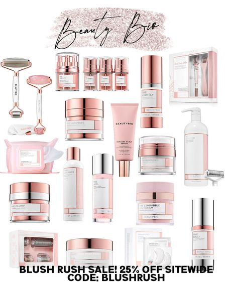 Code: BLUSHRUSH for 25% off sitewide on Beauty Bio! Anti-aging skincare, zenbubble, BeautyBio skincare, luxury skincare, the daily serum, the nightly serum, the balancing cleanser, girly things, blush pink beauty, eye gels, clear skin, flawless skin, affordable skincare, microneedling kits, Glopro glow pro http://liketk.it/3ijFh #liketkit @liketoknow.it #LTKbeauty #LTKsalealert #LTKfamily @liketoknow.it.family