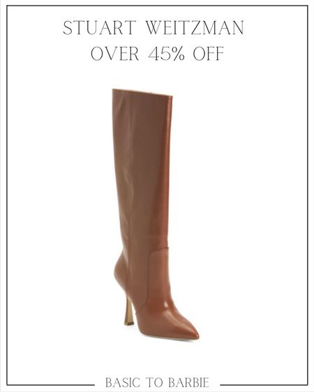Knee high boots are all the rage this year and I can't think of a more perfect pair to wear over jeans or with dresses and skirts!  Not to mention they are on MAJOR sale!      #LTKsalealert #LTKSale #LTKshoecrush
