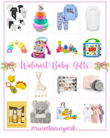 Walmart finds baby gift guide http://liketk.it/31qpc #liketkit @liketoknow.it #LTKgiftspo #LTKkids #LTKbaby