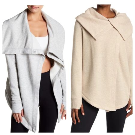 Best selling Zella wrap sweatshirt is restocked! Tts   #LTKunder50 #LTKfit #LTKGiftGuide