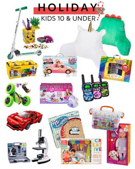 10 & Under Gift Guide Christmas gifts. Holiday. Kids.   http://liketk.it/30z3g #liketkit @liketoknow.it #LTKkids