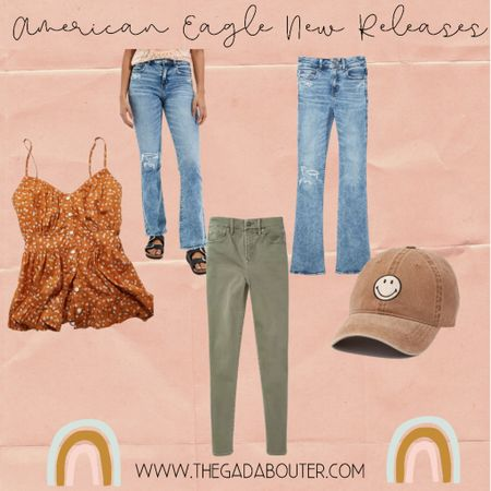 Found 4 cute items today from American Eagle's new releases!   Lovin' it all!!!    http://liketk.it/3iQ1y #liketkit @liketoknow.it #LTKstyletip #LTKunder100 Shop your screenshot of this pic with the LIKEtoKNOW.it shopping app ♥️
