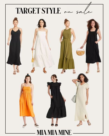 Target summer dresses on sale #targetstyle    #LTKsalealert #LTKunder50 #LTKunder100