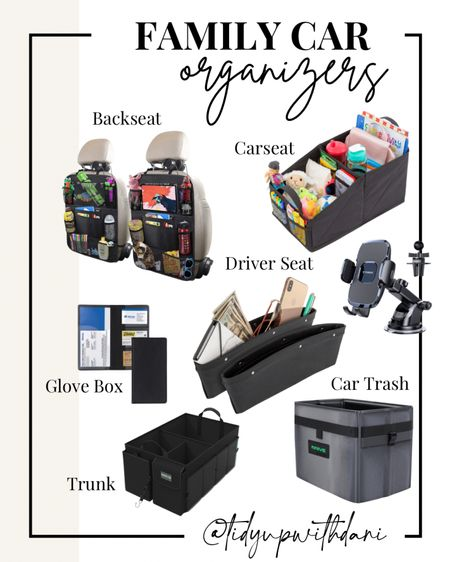 Ultimate car organizers for families. Family car organization for travel and road trips. Organize your trunk, back seat, kids car seat, glove box, and car trash. Car organizers from Amazon. Amazon car finds. Amazon car storage for family road trips. #organization #travel #roadtrip #familycar #carorganization #carstorage #amazonfinds   #LTKunder50 #LTKfamily #LTKtravel