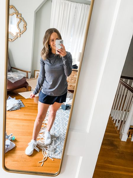 Trying out this Sweaty Betty skirt! Super cute! This top is Zella and its SUPER comfy!  #LTKunder100 #LTKSeasonal
