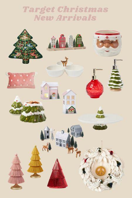 Target New Christmas Home Decor!   #LTKSeasonal #LTKHoliday #LTKunder50