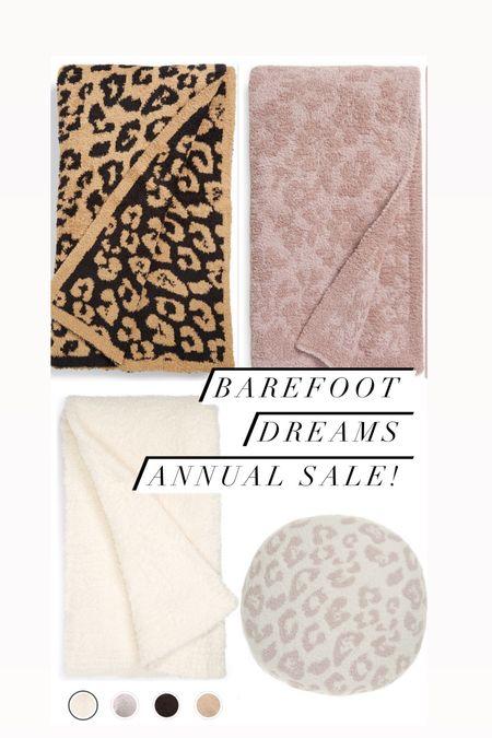 Barefoot dreams blanket sale Barefoot dreams pillow Leopard blanket  #LTKunder100 #LTKhome #LTKsalealert