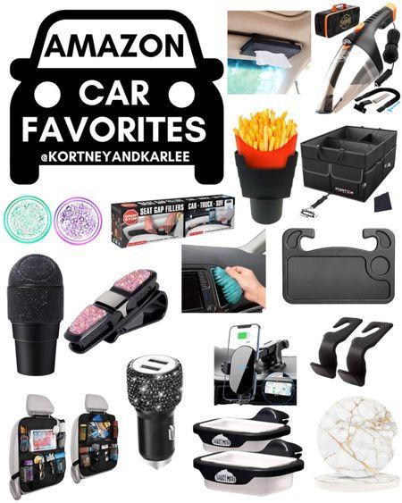 Amazon Car Favorites!!  Amazon finds | amazon girly things | amazon home finds | amazon must haves | amazon best sellers | Amazon car favorites | Amazon car must haves | Amazon car finds | Amazon car essentials | car must haves | car must haves from Amazon | car gadgets | Amazon car gadget | Kortney and Karlee | #kortneyandkarlee #LTKunder50 #LTKunder100 #LTKsalealert #LTKstyletip #LTKSeasonal #LTKhome @liketoknow.it #liketkit