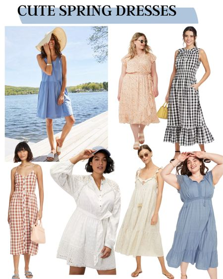 It's time to start thinking about SPRING! Grab these cute dresses while they are available. Size inclusive options including XS-4X.  http://liketk.it/39doY #liketkit @liketoknow.it #LTKcurves #plussizes