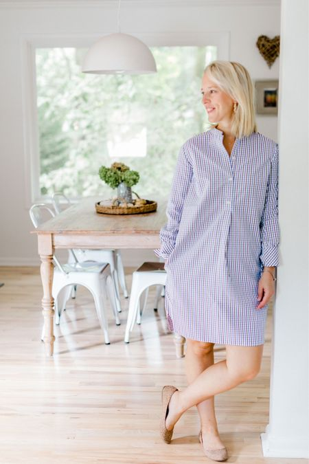 Feel put together instantly when you slip on this greyhound shirt dress. http://liketk.it/2ZgfN #liketkit #LTKshoecrush @liketoknow.it @liketoknow.it.home You can instantly shop my looks by following me on the LIKEtoKNOW.it shopping app