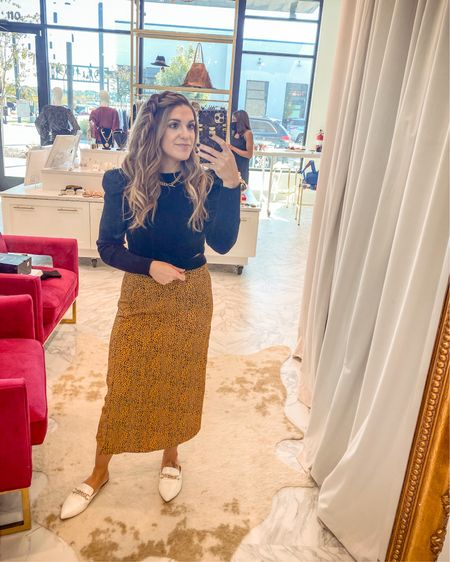 Had the best day trying on pretty things at The Gator Bug!! ♥️✨🍾 skirt is from their boutique, but linked everything else from there for y'all! ♥️ HAPPY SATURDAY! #LTKunder50 #LTKsalealert #LTKshoecrush http://liketk.it/2ZwFI #liketkit @liketoknow.it