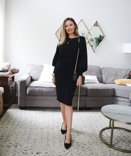 A great fall sweater dress!  Target style holiday gifts, Amazon fashion sweater dress shacket Family photos Walmart finds booties Target finds winter style sweaters workout wear active wear amazon finds Apple Watch bands living room home decor wedding guest dresses Nordstrom Fall fashion  Halloween Work wear Black dress  #LTKshoecrush #LTKHoliday #LTKworkwear