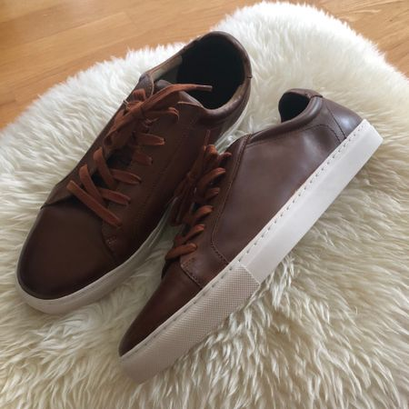 I got these beautiful cognac leather sneakers for my husband for 50% off + an extra 10% off for @bananarepublic. Cardholders can use the 50% off no merchandise exclusions UNIQUE code you may have received in your email (my husband had to forward me his code since I didn't get one) + code BRCARD which will make these $57.60! @liketoknow.it http://liketk.it/2y3BH  #liketkit #LTKsalealert #LTKshoecrush #LTKstyletip #LTKunder100 #LTKmens