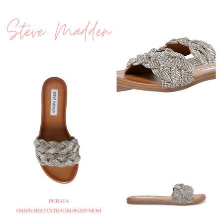Love these Rhinestone sandals from Steve Madden http://liketk.it/3fKMS #liketkit @liketoknow.it #LTKstyletip #LTKshoecrush #LTKunder100
