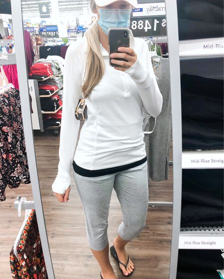 This athletic 1/4 zip is a great Walmart find if you're looking for a lightweight top for running, working out, going for a walk, or just for lounging + running errands! Runs TTS — size up for a loser fit! I'm in a medium. Comes in a ton of colors. http://liketk.it/2WK6x #liketkit @liketoknow.it #LTKunder50 #LTKfit #LTKstyletip