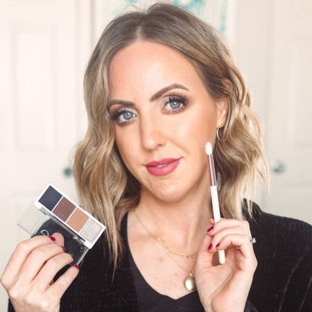 Easy drugstore eye and lip tutorial, using mostly e.l.f. products! http://liketk.it/34M6r #liketkit @liketoknow.it