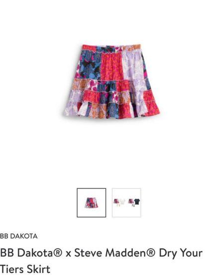 Stitch fix bb Dakota x Steve Madden dry your tiers skirt. Summer mini skirt. http://liketk.it/3fPGZ #liketkit @liketoknow.it #miniskirt #stitchfix  #LTKstyletip #LTKunder100 #LTKtravel