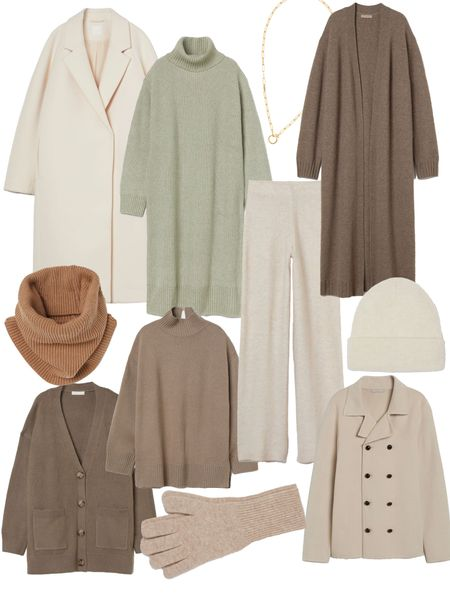 Cozy for less!! Most of theses funds are under $50. Neutrals always look more expensive than they are, and dressing tone on tone has that effect too!   #LTKunder50 #LTKHoliday #LTKGiftGuide