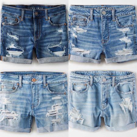 Denim shorts! http://liketk.it/2Ohl7 #liketkit @liketoknow.it #LTKsalealert Screenshot this pic to get shoppable product details with the LIKEtoKNOW.it shopping app