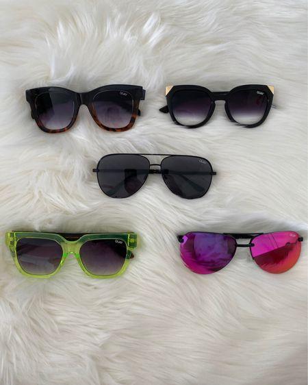 Quay Sunglasses 🕶  Summer essentials   http://liketk.it/3fWeN #liketkit @liketoknow.it #LTKunder100 #LTKtravel #ltksummer