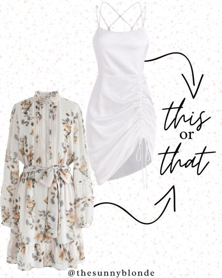 This or that? You can never have too many dresses 👗   #LTKfit #LTKwedding #LTKstyletip