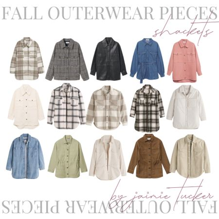 Top-Selling overshirts and shackets to rock this fall! | #shackets #oversizedovershirts #overshirts #fallouterwear #plaidshackets #woolovershirts #falljackets #fallcoats #womenswear #falloutfit #dinneroutfit #layeringpieces #JaimieTucker  #LTKSeasonal #LTKGiftGuide #LTKstyletip