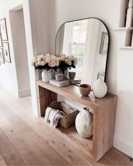 Console table, home decor, home accessories, entryway, mirror, StylinAylinHome   #LTKunder100 #LTKstyletip #LTKhome