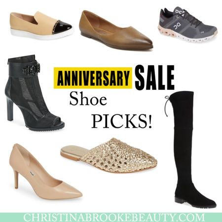 Nordstrom anniversary sale shoe picks!