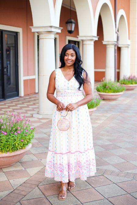 This gorgeous maxi dress is sooooo nice. I'm wearing a size medium. Perfect for vacay at or even brunch.   #LTKstyletip #LTKwedding #LTKtravel