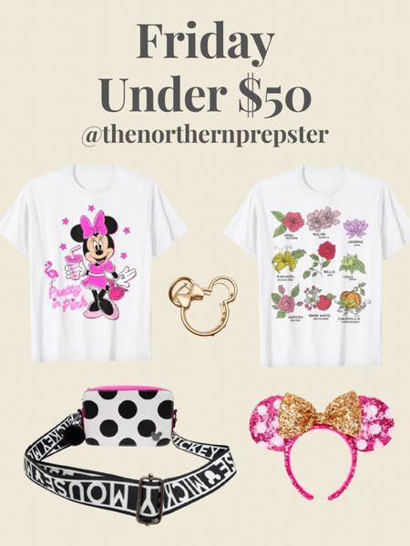 Friday Under $50 - DISNEY Edition!💕🏰👑   http://liketk.it/3jSMd #liketkit @liketoknow.it #LTKunder50 #LTKtravel #LTKstyletip